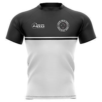 2020-2021 Neuseeland Trainingskonzept Rugby Shirt - Kinder