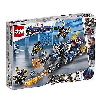LEGO 76123 Marvel Avengers - Captain America: Attaque de voltigeurs