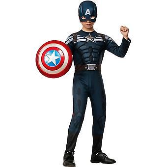 Kapteeni Amerikka 2 lapsi puku