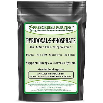 Pyridoxal-5-fosfaatti-Bio-aktiivinen muoto pyridoksiini jauhe