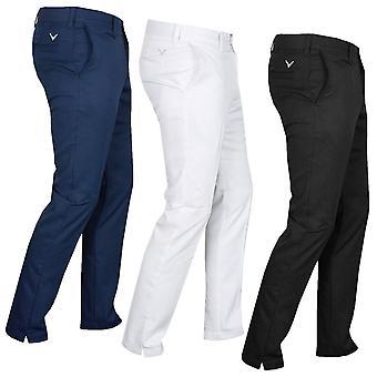 Callaway 2021 Mens X Tech III Chevron Flex Stretch Golf Trousers