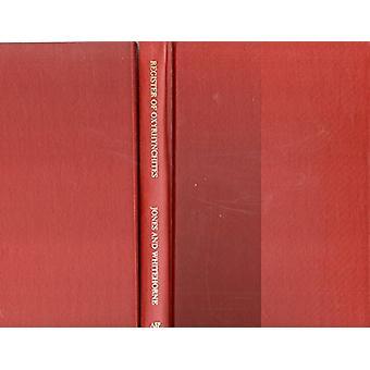Register of Oxyrhynchites 30bc-Ad96 by Brian W Jones - J Whitehorne -