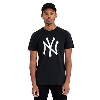 New Era Basic Shirt - MLB New York Yankees schwarz