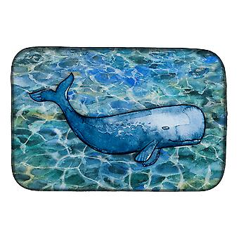 Carolines Treasures  BB5354DDM Sperm Whale Cachalot Dish Drying Mat