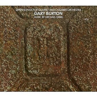 Gary Burton - Seven Songs for Quartet & Chamber Orchestra [CD] USA import