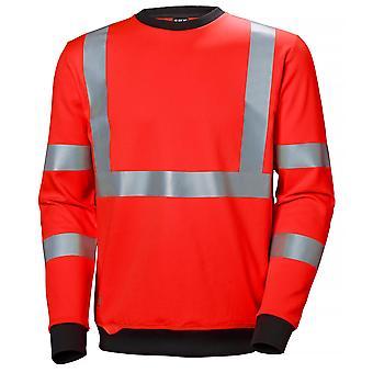 Helly Hansen Mens Addvis Hi Visibility Workwear Sweatshirt