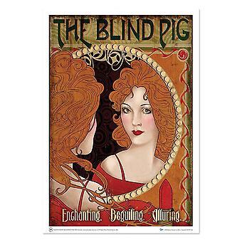 Poster - Fantastic Beasts - Art Print Blind Pig 18x24