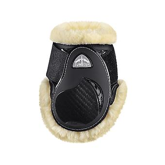 Veredus Young Jump Vento Save The Sheep Rear Fetlock Boots - Black
