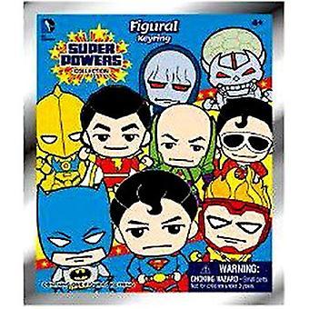 Key chain-DC Comics-3D PVC skum samlerobjekt blind-box super kræfter 45475