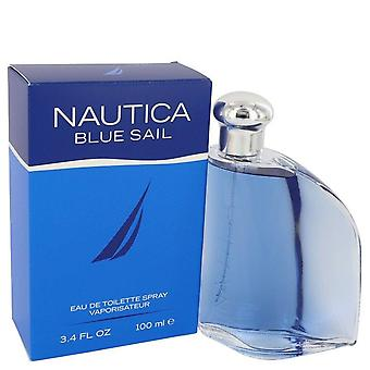 Nautica sininen purje eau de toilette spray nautica 542240 100 ml