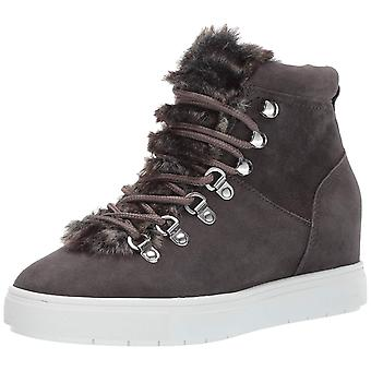 Steven by Steve Madden Womens Kalea-f Leather Hight Top Lace Up Fashion Sneakers