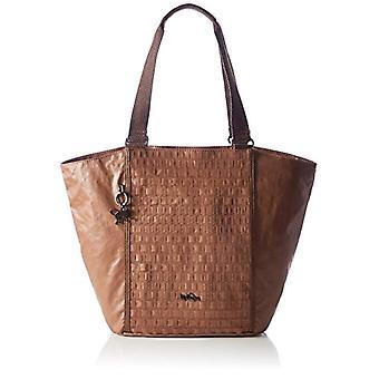 Kipling Eris - Donna Brown Beach Bags (Tan Weave) 53x33.5x15.5 cm (W x H x L)