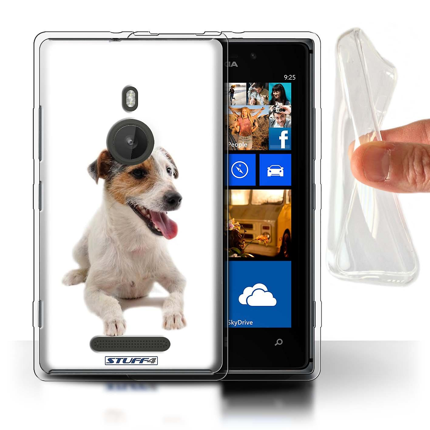 STUFF4 Gel TPU Case/Cover for Nokia Lumia 925/Jack Russell Terrier/Dog Breeds