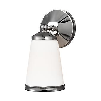 Feiss VS21901PN 1-Light Sconce Wall Light FixturePolished Nickel