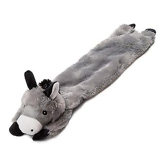 Animate Stuffed Donkey Plush Dog Toy