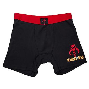 Star Wars Mandalorian Men's Underwear Boxer Briefs