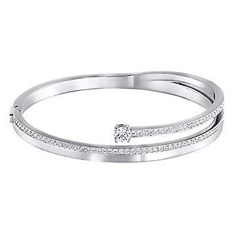Swarovski Fresh rigid bracelet - white - rhodio plating