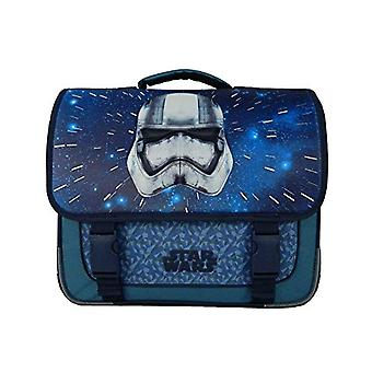 Bagtrotter SWNI10CASQ Star Wars for School - size-38 x 14 x 33 cm - Colour-Nautic Grey