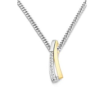Miore - Necklace - 9-karat yellow gold (375) with zirconia - Woman - 45 cm MH9091SN