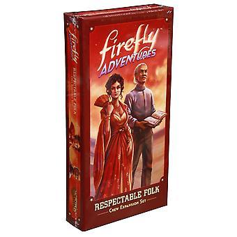 Firefly Adventures - Respectable Folk Exp Inara and Shepherd Book