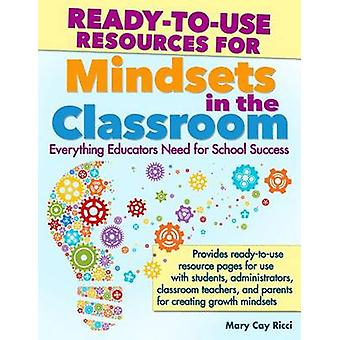 Ready to Use Resources for Mindset in the Classroom by Mary Cay Ricci