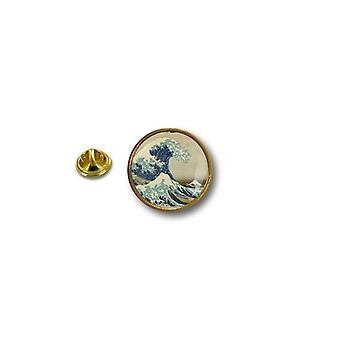 Pins Pin Badge Pin's Metal Broche La Vague The Wave Surf