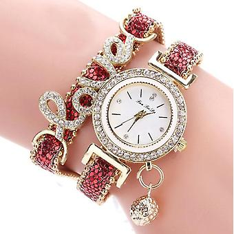 Love crystal wrap watch