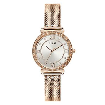Guess W1289L3 Frauen's Juwel Rose Gold Ton Armbanduhr