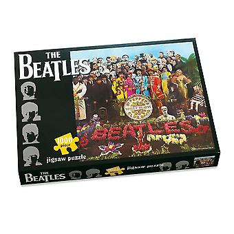 The beatles - sgt pepper's lonely hearts club band - 1000 piece jigsaw puzzle