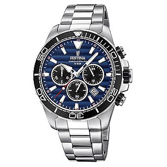 Festina F20361-3 Men's Prestige Chronograph Wristwatch