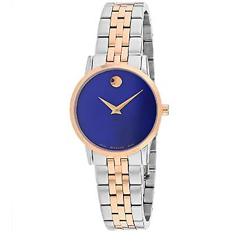 Movado Women's Museum Blue Dial Watch - 607268