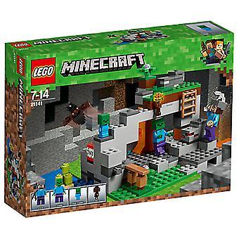 LEGO 21141 Minecraft zombie luola