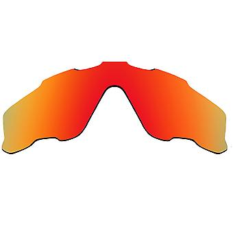 Polarized Replacement Lenses for Oakley Jawbreaker Sunglasses Red Anti-Scratch Anti-Glare UV400 by SeekOptics