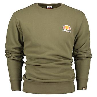 Ellesse mottar Crew hals khaki genser
