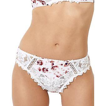 Sans Complexe 60PAE70 Women's Arum Print Lace Knickers Panty Full Brief