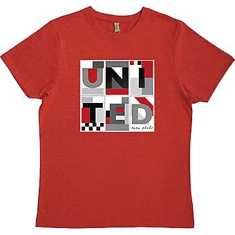 United: Peter Blake Red 100% gerecycled T-shirt