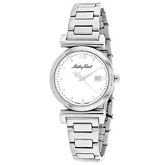 Mathey Tissot Women's White Dial Watch - D410AI