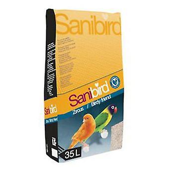 Sanibird Zand voor vogelkooi Zircus (Vogels , Strooisel)