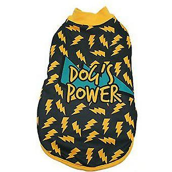 MI&DOG Abrigo Capa Felpado Dogs Power T-30 (Dogs , Dog Clothes , Coats and capes)