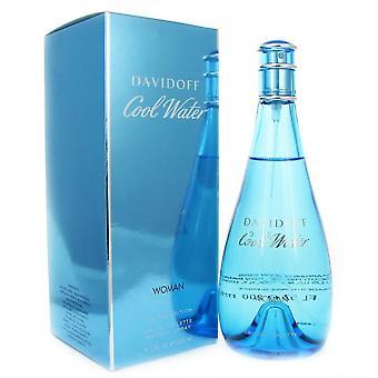 Zimną wodą dla kobiet limited edition przez davidoff 6,7 uncji eau de parfum spray