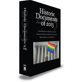 Historic Documents of 2013 by CQ Press