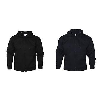Vêtements absolue Mens Zip Thru Hood