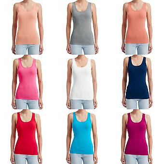 Anvil Womens/Ladies Stretch Sleeveless Tank Top