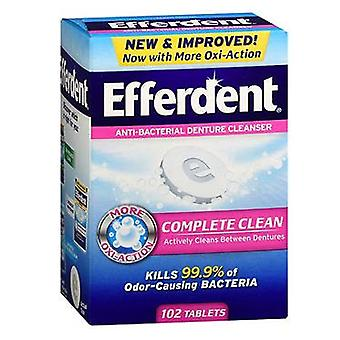 Efferdent original tablet, 102 ea