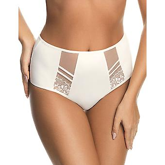Gorsenia K498 Femmes-apos;s Paradise Cream Off White Brazilian Brief