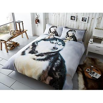 Husky Duvet Cover Bedding Set