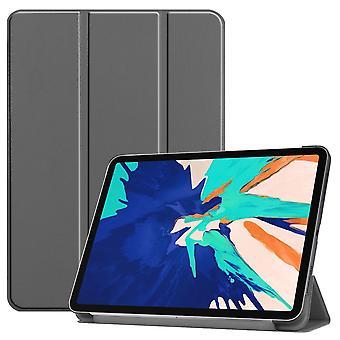 Premium Smart Cover Grau Tasche Etuis Hülle für Apple iPad Pro 12.9 2020 Case
