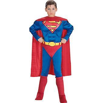 デラックス筋胸スーパーマン。サイズ: 幼児