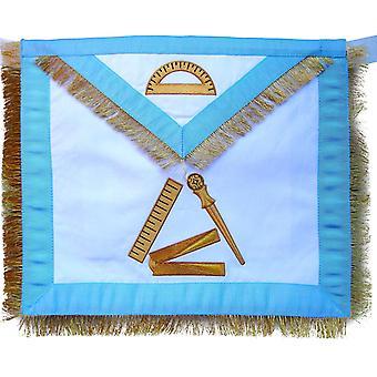 Masonic fraternal scottish rite 12th degree grand master architect regalia apron