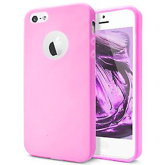 Shell for Apple iPhone 5 5s SE Pink TPU Protection Case